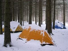 Winter Camping Tips (not sure I could actually camp in the winter but ya never know)