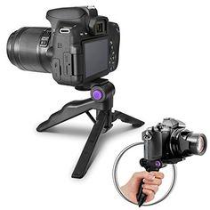 Altura Photo Mini Tripod with Pistol Grip for DSLR Camera