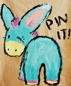(Pin the Tail on the Donkey...pin it)