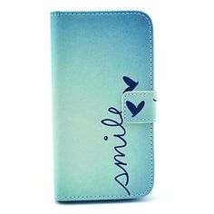 Smile Butterfly Design PU Leather Full Body Case with Stand for Samsung Galaxy S4 I9500 – EUR € 6.43