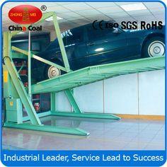 two Level 2 Post Tilt Parking Lift