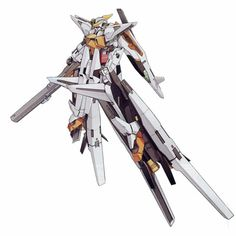 GN-003/af-G02 Gundam Kyrios Gust (aka Gundam Kyrios Gust, Kyrios Gust), is the GN-003 Gundam Kyrios, equipped with its high-mobility Gust equipment for atmospheric combat. The unit is featured in Mobile Suit Gundam 00V and piloted by Allelujah Haptism.