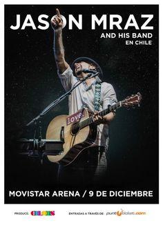 Jason Mraz - 09 de diciembre - Movistar Arena