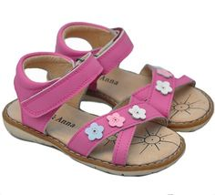 These great little sandals from Atti & Anna are so pretty! Soft, cushioned leather footbeds ensure comfort and dryness during summer.