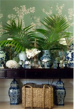 Bromeliad: Seagrass baskets