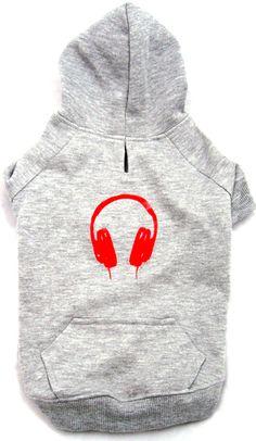 Headphone Hoodie. Miles loves the urban vibe.
