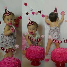 valentinesday photoshoot DIY cake s - Diy Cake, Cake Smash, Baby Pictures, Kylie Jenner, Diys, Valentines Day, Flower Girl Dresses, Photoshoot, Wedding Dresses