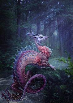 "megarah-moon: ""Water Dragon"" by Vasylina"