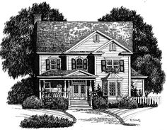 Home Plan HOMEPW09601 - 2705 Square Foot, 3 Bedroom 2 Bathroom Victorian Home…