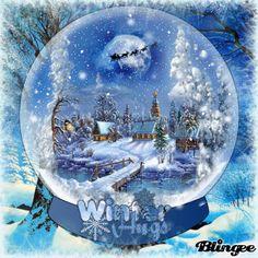 Winter Wonderland Hugs ~ For Bianca