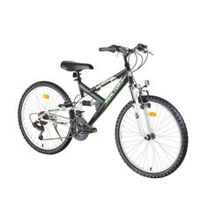 "Juniorský bicykel Reactor Fox 24"" - model 2016 - čierna"