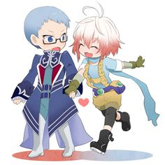 Tales of Graces - Hubert x Pascal
