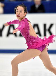 NHK Trophy 2015 || 浅田真央のショートプログラム=27日、長野・ビッグハット(撮影・桐山弘太)