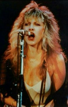 """Stephanie """"Stevie"""" Nicks is a singer-songwriter known for her career with Fleetwood Mac which gave the band their only U. Stevie Nicks Now, Stevie Nicks Fleetwood Mac, Rock Roll, Stephanie Lynn, Women Of Rock, Look Vintage, Best Beauty Tips, Olivia Newton John, Young And Beautiful"""