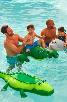 Young swimmers will have loads of fun frolicking with our lightweight, plush Oversized Pool Petz.