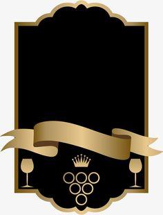border frame gold transparent clip art backgrounds graphics