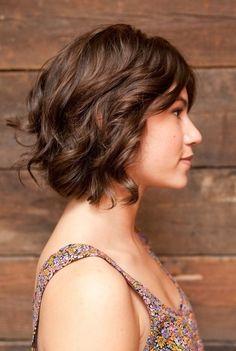 2014 wavy bob hairstyles | Brown Short Hairstyles for Wavy Hair 2014 | Popular Haircuts