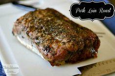pork loin roast recipe