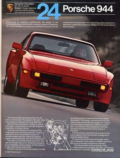 Porsche 944 - I had one of these just like Jake Ryan.  Except I was old when I got mine.