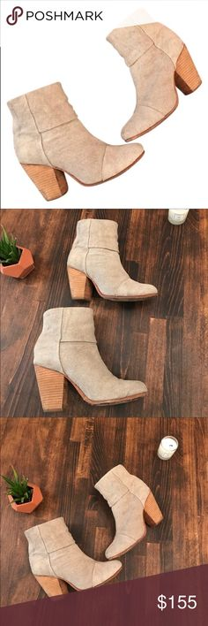 """💐SALE💐Rag and Bone canvas Newbury boots Italian cotton canvas shapes chic ankle boots. Stacked wooden heel 3.5"""" (90mm) Shaft 4.5"""", cotton canvas upper. Almond toe, back zip, leather lining and sole, padded insole. Good condition. Some marks on canvas. Can be cleaned. Fits perfect 7.5. Size 38❌no PayPal  ❌no trade  ❌no holds ❌🚬 smoke free ❌🐶🐱 pet free rag & bone Shoes Ankle Boots & Booties"""