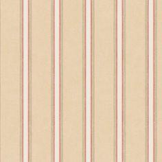 Shabby Stripe Wallpaper, Multi-Colored