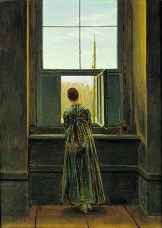 1. Friedrich_Woman at the Window