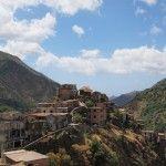 Die Geisterstadt Roghudi im Aspromonte (Kalabrien)