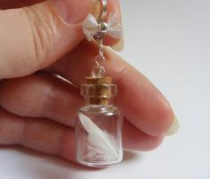 Hey, I found this really awesome Etsy listing at http://www.etsy.com/listing/100932823/white-feather-bottle-necklace-pendant