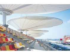 TI Tensile Structures Manufacturers world-class Tensile Membrane, Awning, Car Parking Shades, Entrance Tensile Structures, Roof Tensile Structures, Beach Tensile Umbrella, Outdoor Shade, Shades Sails, Domes, Tensile Fabric Architecture, Tension Membrane Structure,  Advertising Canopies, Modular Tensile Membrane Structures  in India.