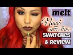 melt Cosmetics NoOd Collection swatches + review - Melt Cosmetics https://www.amazon.com/gp/search?ie=UTF8&tag=pixibeauty-20&linkCode=ur2&linkId=ec1a0b202568f2fcd14a941e7c9da42e&camp=1789&creative=9325&index=beauty&keywords=melt cosmetics  ♡♡Thumbs up for more swatches/reviews♡♡ Hey everyone! Yvette here with a review slash swatch video on melt cosmetics new lipsticks called the nood collection. This collection has four new lipsticks