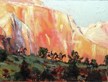 Zions Riders Original (SOLD) by Jeremy Winborg kp