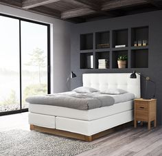 Jensen Prestige Continental bed, Nature