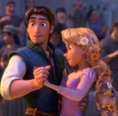 Rapunzel and Flynn Rider in the Kingdom Dance Rapunzel And Eugene, Tangled Rapunzel, Disney Rapunzel, Princess Rapunzel, Eugene Tangled, Rapunzel Movie, Tangled Movie, Disney Couples, Disney Love