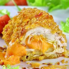 Crispy Baked Parmesan Chicken recipe is QUICK and EASY DINNER for your family. Make garlic parmesan crusted chicken breasts with cheddar cheese in 30 mins. Chicken Parmesan Recipes, Easy Chicken Recipes, Tasty Chicken Videos, Steak Recipes, Easy Baked Chicken, Crispy Chicken, Keto Chicken, Rotisserie Chicken, Healthy Chicken