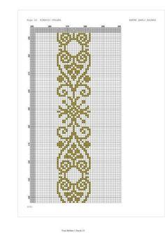 Bead Crochet Patterns, Peyote Stitch Patterns, Crochet Diagram, Crochet Chart, Beading Patterns, Cross Stitch Cards, Cross Stitch Borders, Cross Stitch Designs, Cross Stitching