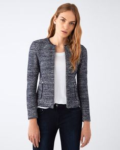 Jigsaw knitted jacket
