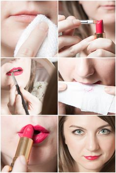 Vintage Lip by AGAP |  How to make lipstick last without lip liner!