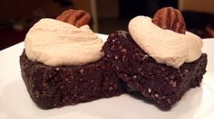 Vegan Brownie and Peanut Butter Whipped Cream