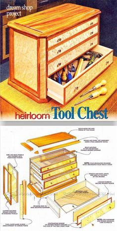 Heirloom Tool Chest Plans - Workshop Solutions Projects, Tips and Tricks | WoodArchivist.com