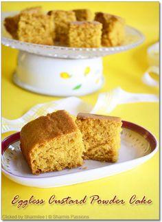 Eggless ginger cake recipe