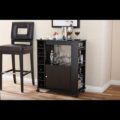 Wholesale Interiors Baxton Studio Bar Cabinet & Reviews | Wayfair