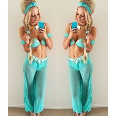 Princess Jasmine Costume | 27 Sexy Halloween Costumes for 2016 | http://www.hercampus.com/life/27-sexy-halloween-costumes-2016