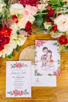 Personalised wedding invites