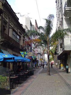 Calle peatonal Sarandi URUGUAY | Montevideo