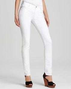 Michael Michael Kors Slim Jeans in White