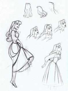 Animation Character Design Sleeping Beauty