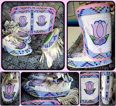 """Custom Beadwork""  #NativeAmerican #Art #Crafts #Preservation"