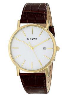 Bulova 97B100 Gold-Tone