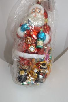 New Years EveChristopher Radko Grand Tour Collection RARE MINT NEW Ornament