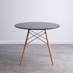Mesa NORDIC FINE 90 - themasie.com Table, Furniture, Home Decor, Wooden Dining Tables, Scandinavian Design, Nordic Style, Decoration Home, Room Decor, Tables